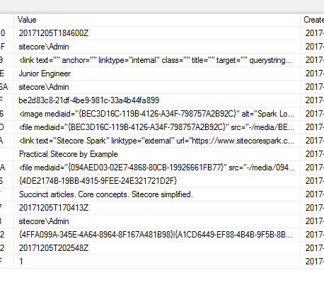 Raw Values: How Data Is Stored In Sitecore - Sitecore Spark